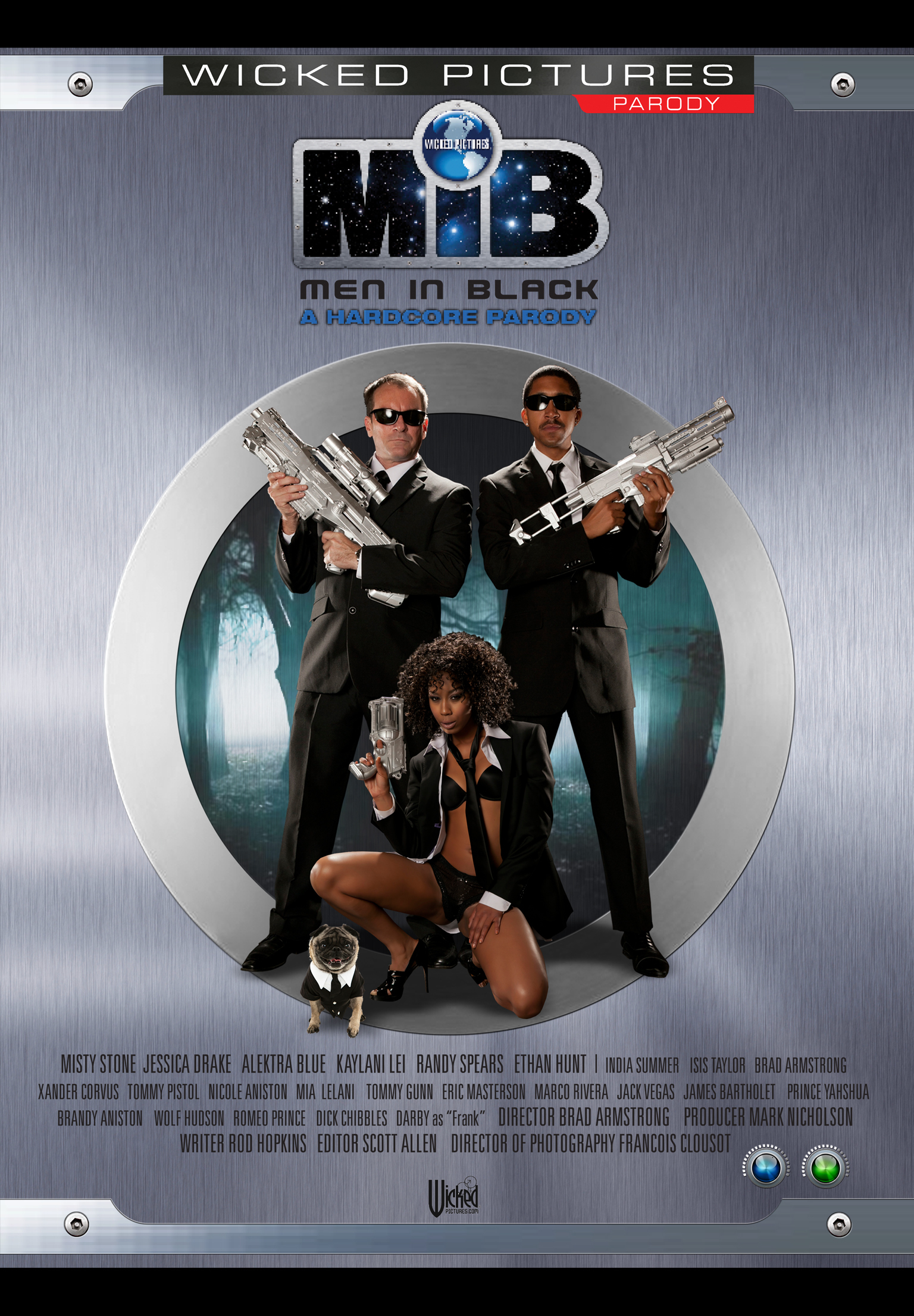Люди в чёрном 1-2-3 XXX Men In Black A Hardcore Parody XXX 2012 HD.