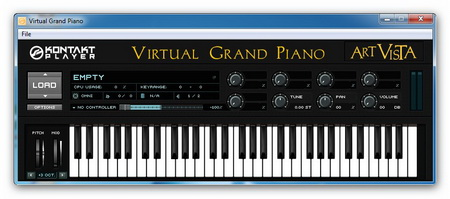 Art Vista Virtual Grand Piano Standalone+Plugin 1.0 32B