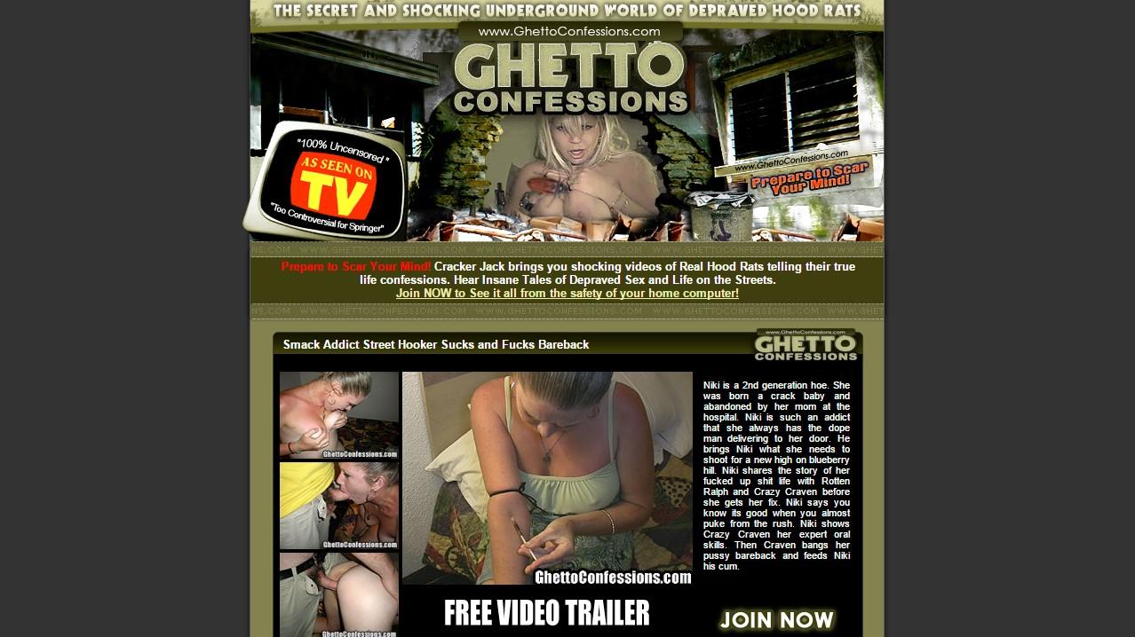 GhettoConfessions.com - SITERIP 1