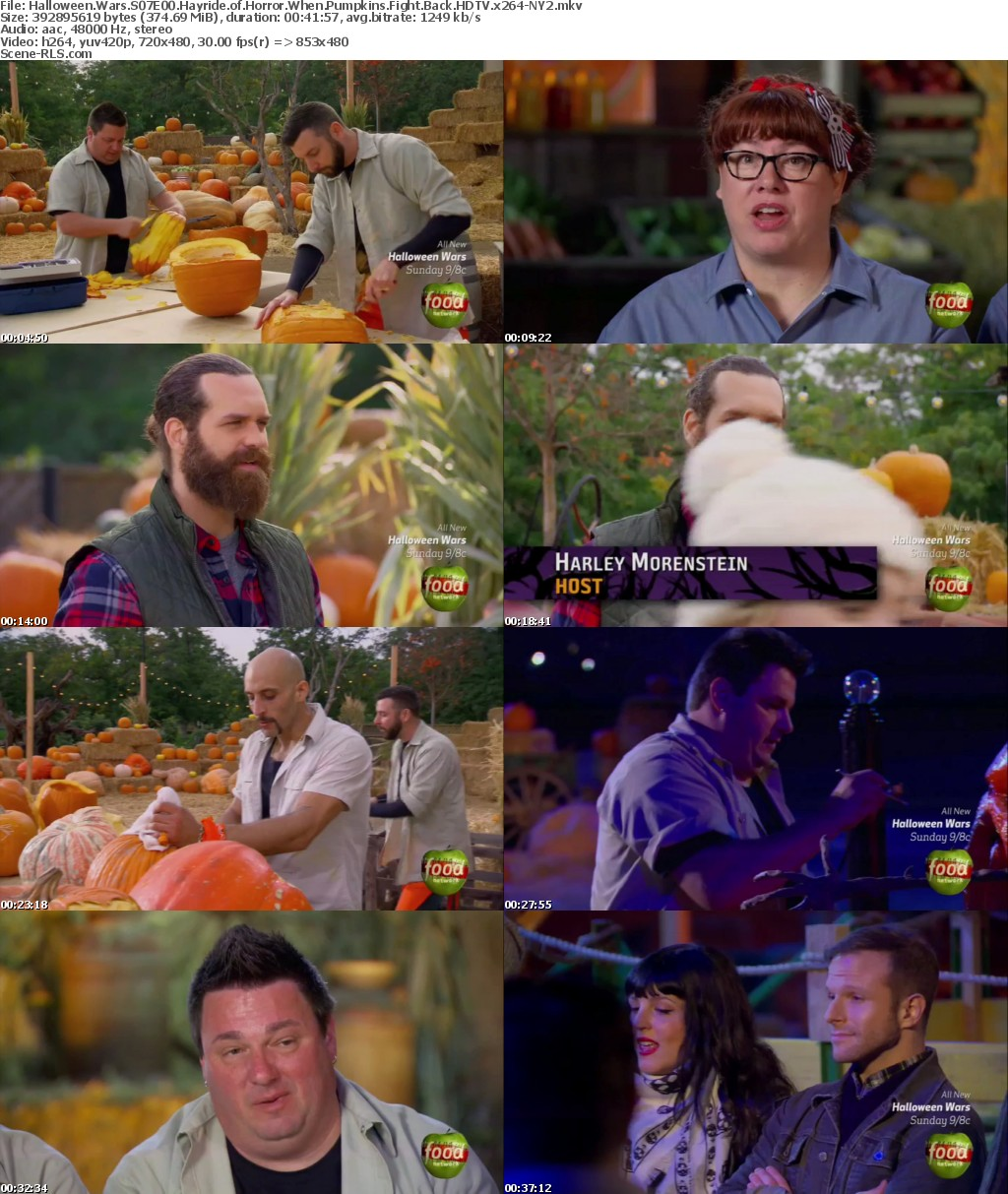 Halloween Wars S07E00 Hayride of Horror When Pumpkins Fight Back ...