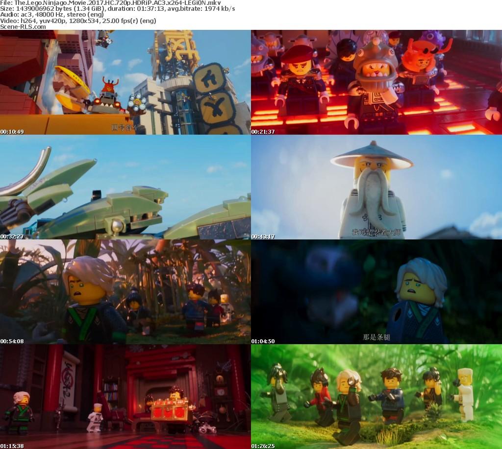 The Lego Ninjago Movie 2017 Hc Hdrip 750mb English 720p