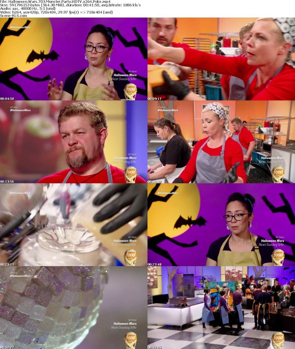 Halloween Wars S07E03 Monster Party HDTV x264-NY2 - Scene Release
