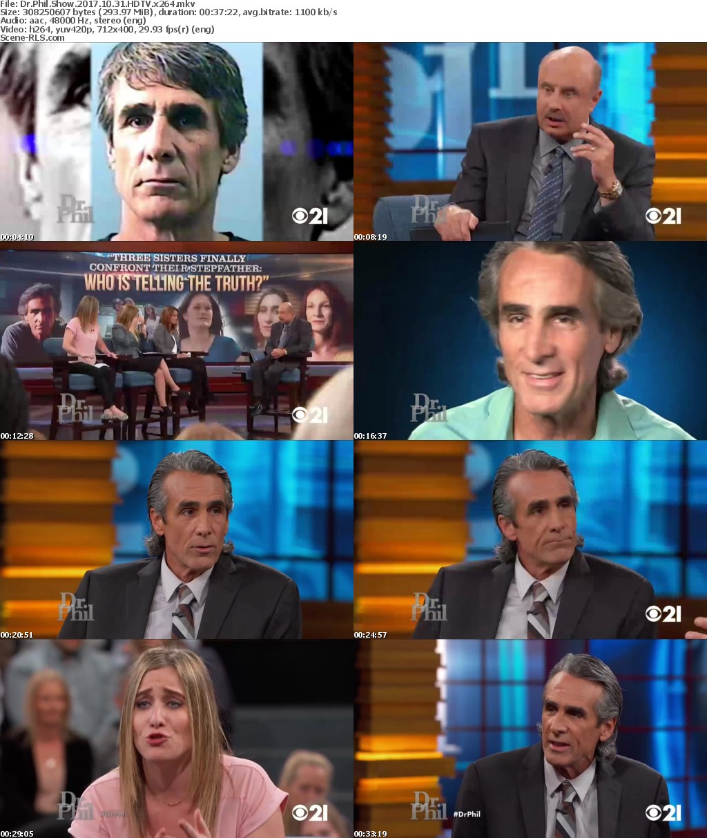 Dr Phil Show 2017 10 31 HDTV x264 - Scene Release