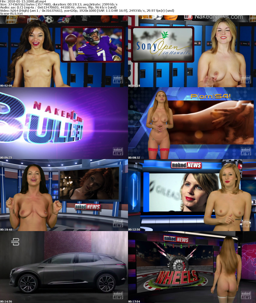 City tv naked news
