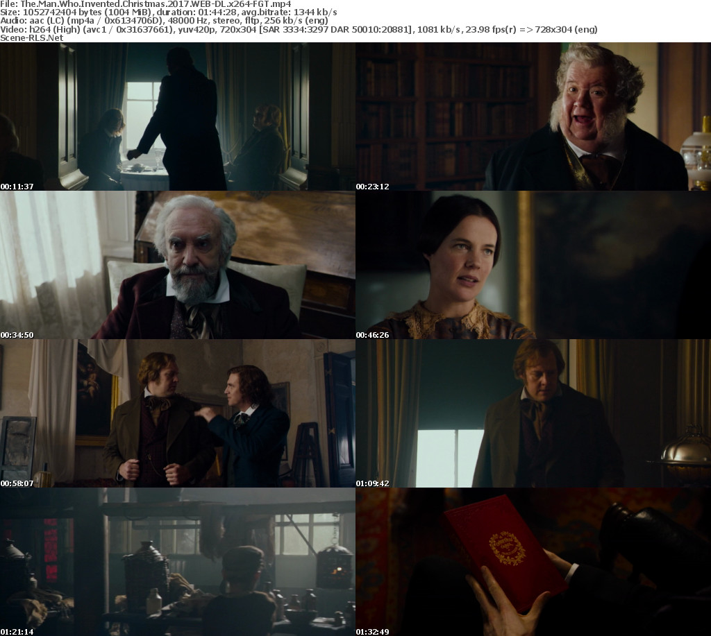 The Man Who Invented Christmas 2017.The Man Who Invented Christmas 2017 Web Dl X264 Fgt Scene