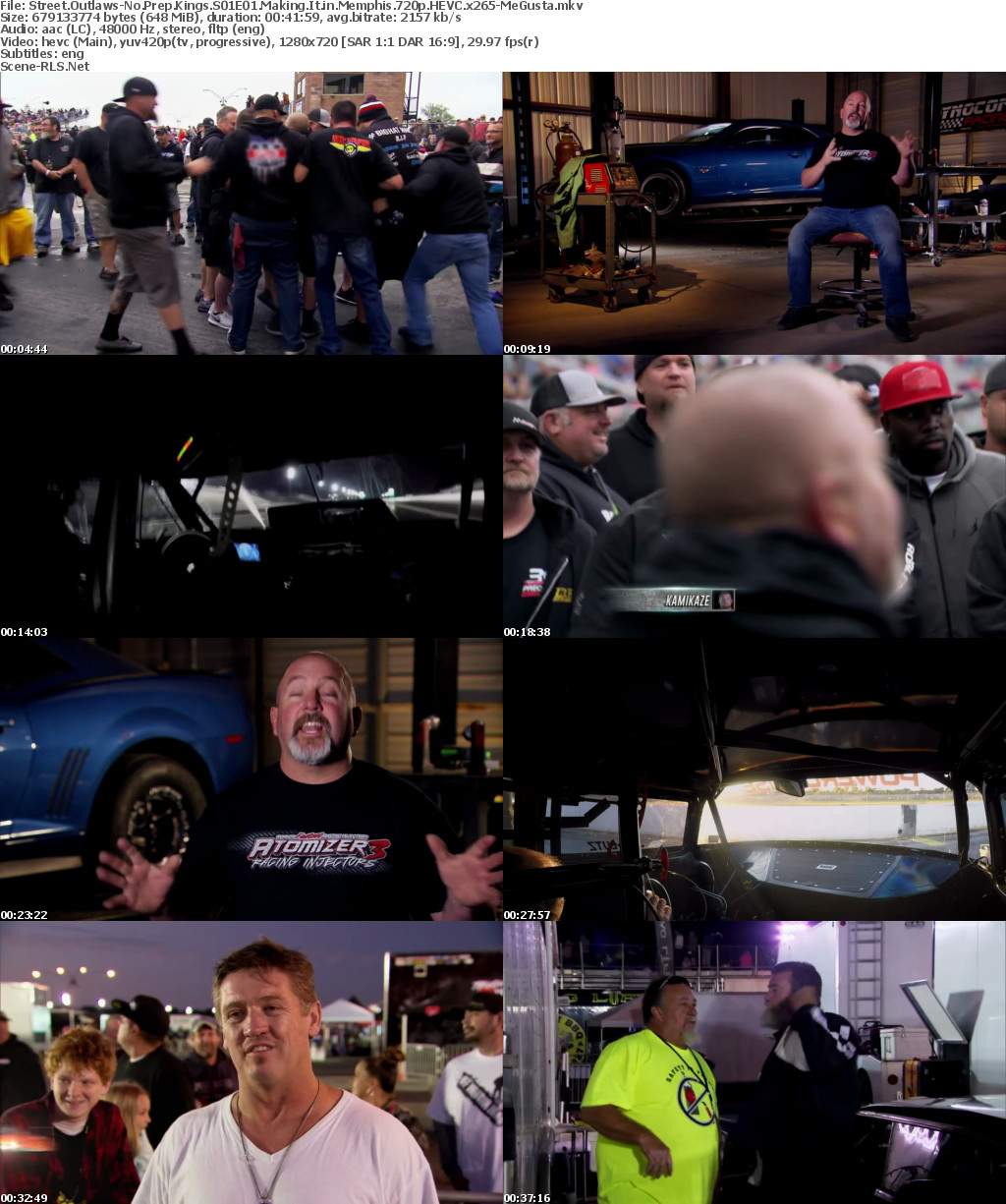 Street Outlaws-No Prep Kings S01E01 Making It in Memphis