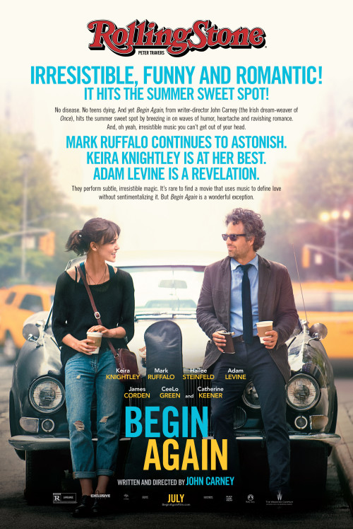 Begin Again (2013) - BRRip 1080p 2.1GB / 720p 1.2GB / 480p 350MB