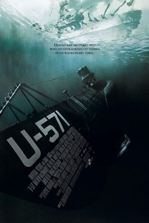 U-571 (2000) – BluRay 1080p 1.6GB / {English} 720p 1004MB