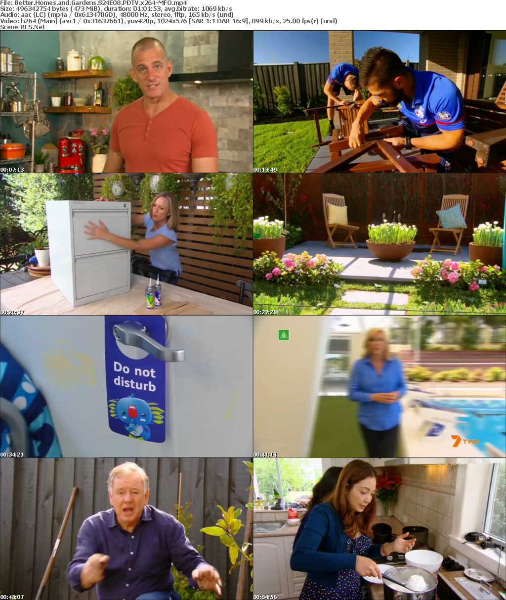 Better Homes And Gardens S24e08 Pdtv X264 Mfo Scene Release