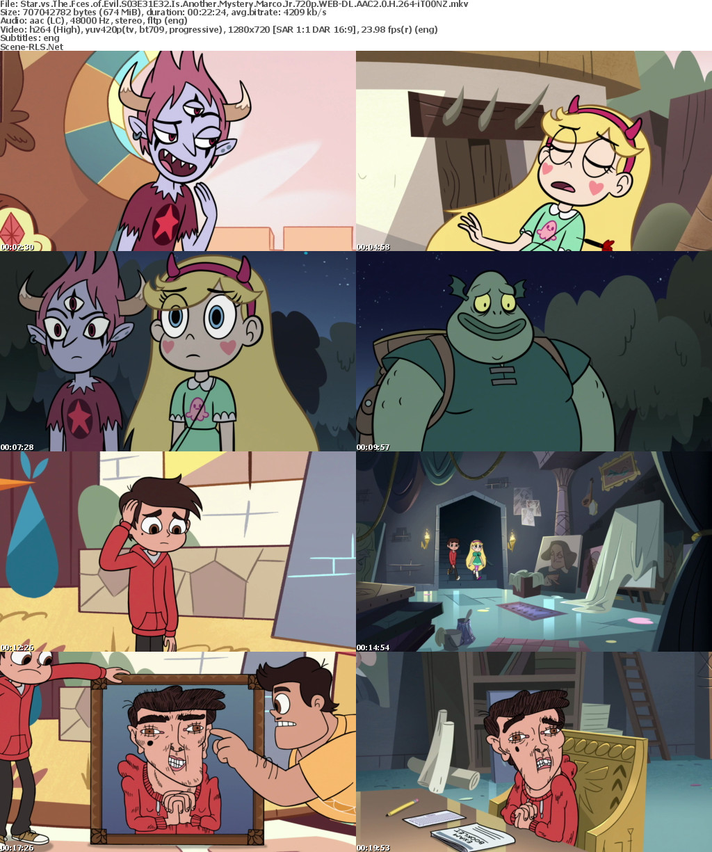 Star vs The Forces of Evil S03E31E32 Is Another Mystery-Marco Jr ...