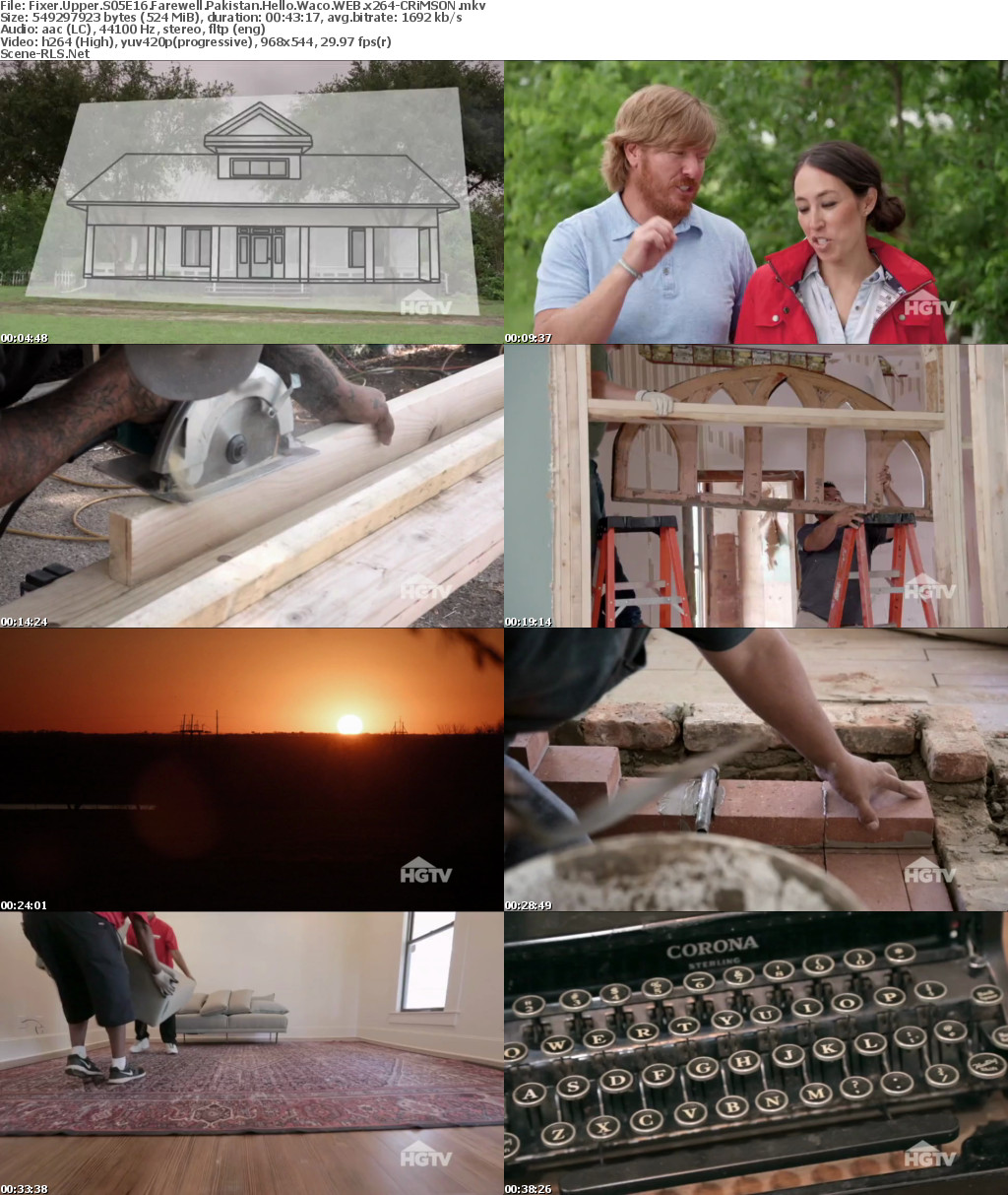 Waco Texas Real Estate Chip And Joanna Gaines Fixer Scene Release