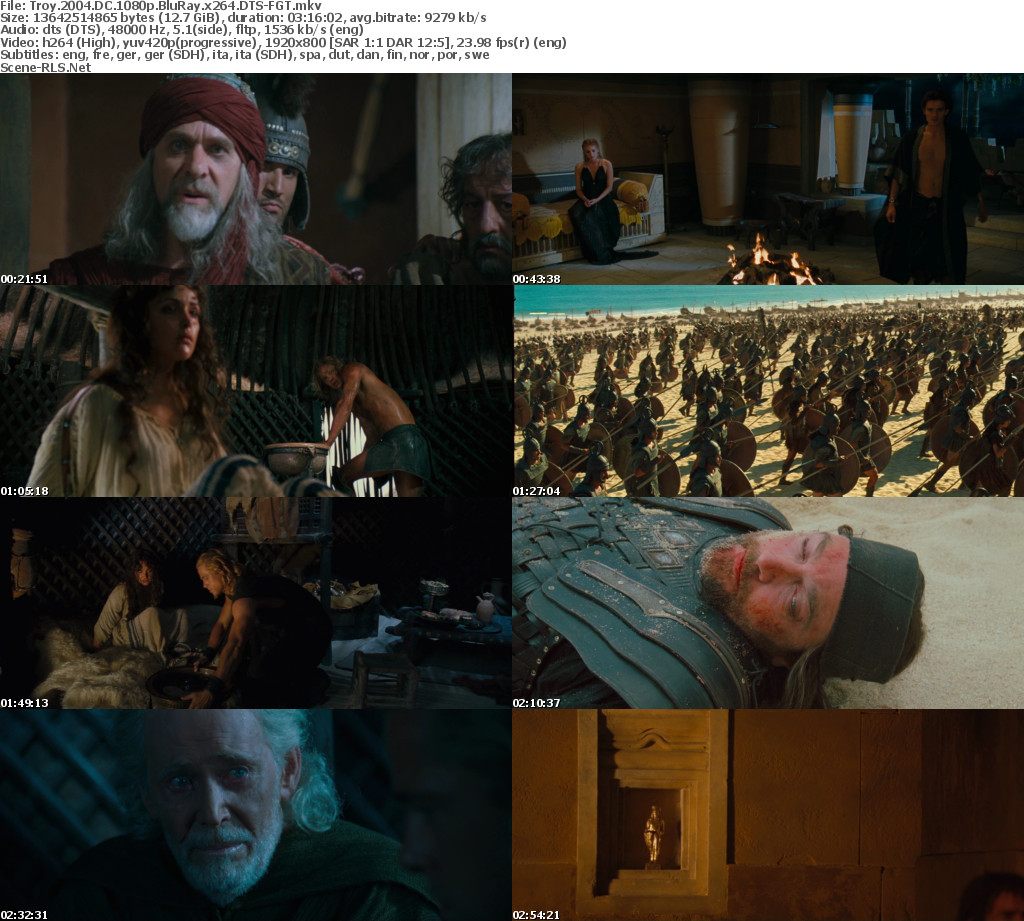 Image result for Troy (2004) screenshot picture