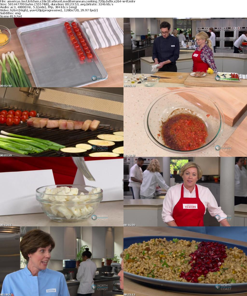 Americas Test Kitchen S18e18 Vibrant Mediterranean Cooking