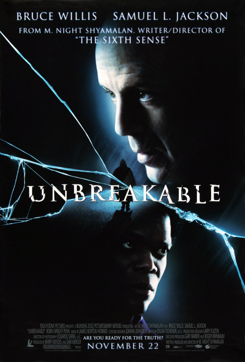 Unbreakable (2000) –Quality of BluRay 720p