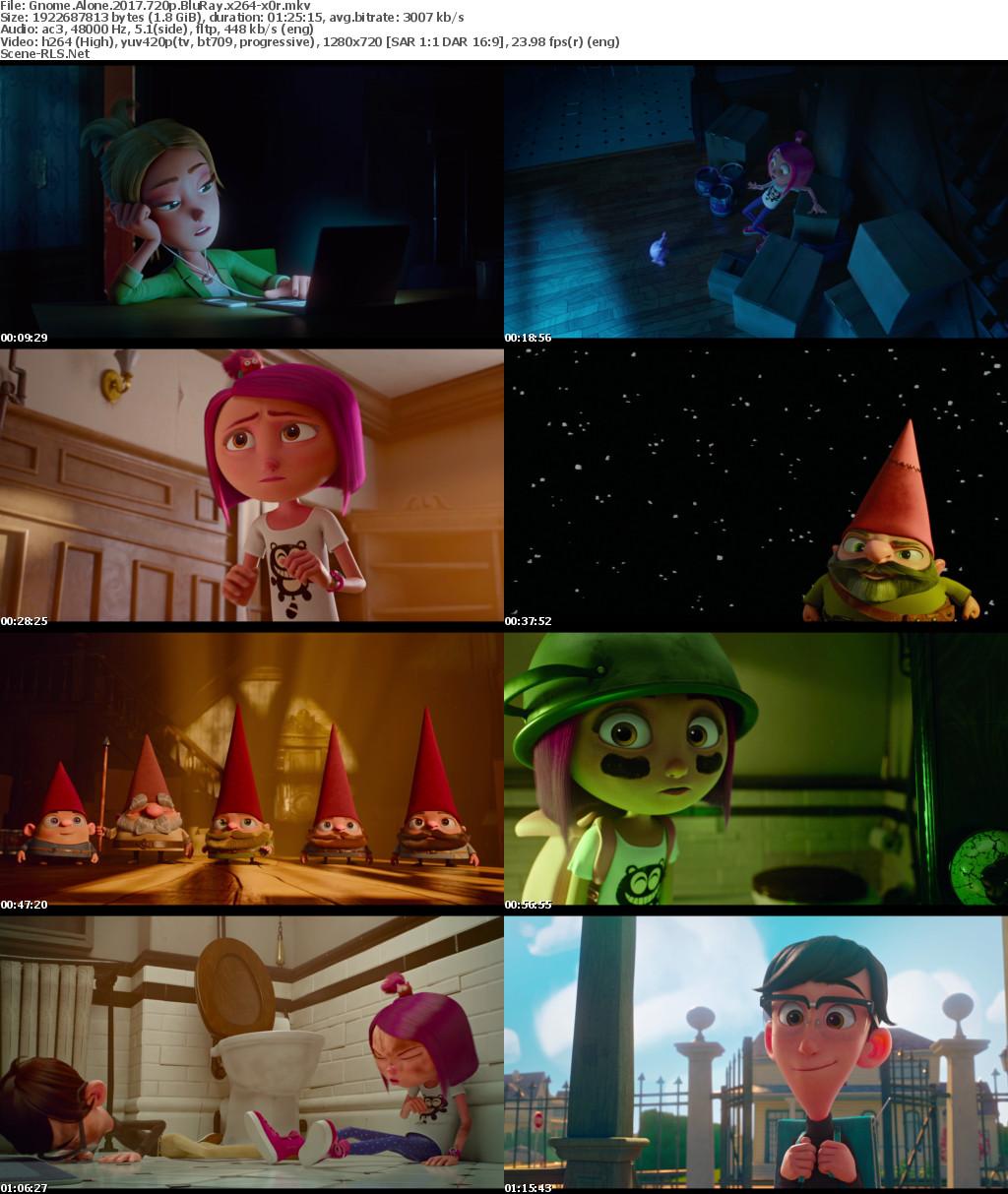 Download Gnome Alone (2017) - EnglishBluRay 720p - 1080p - 480p