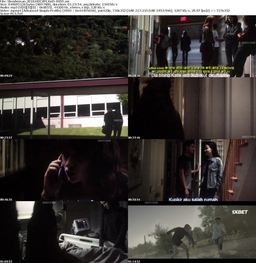 Slender Man 2018 Full Horror Movie HDCAM XviD-AVID 720p