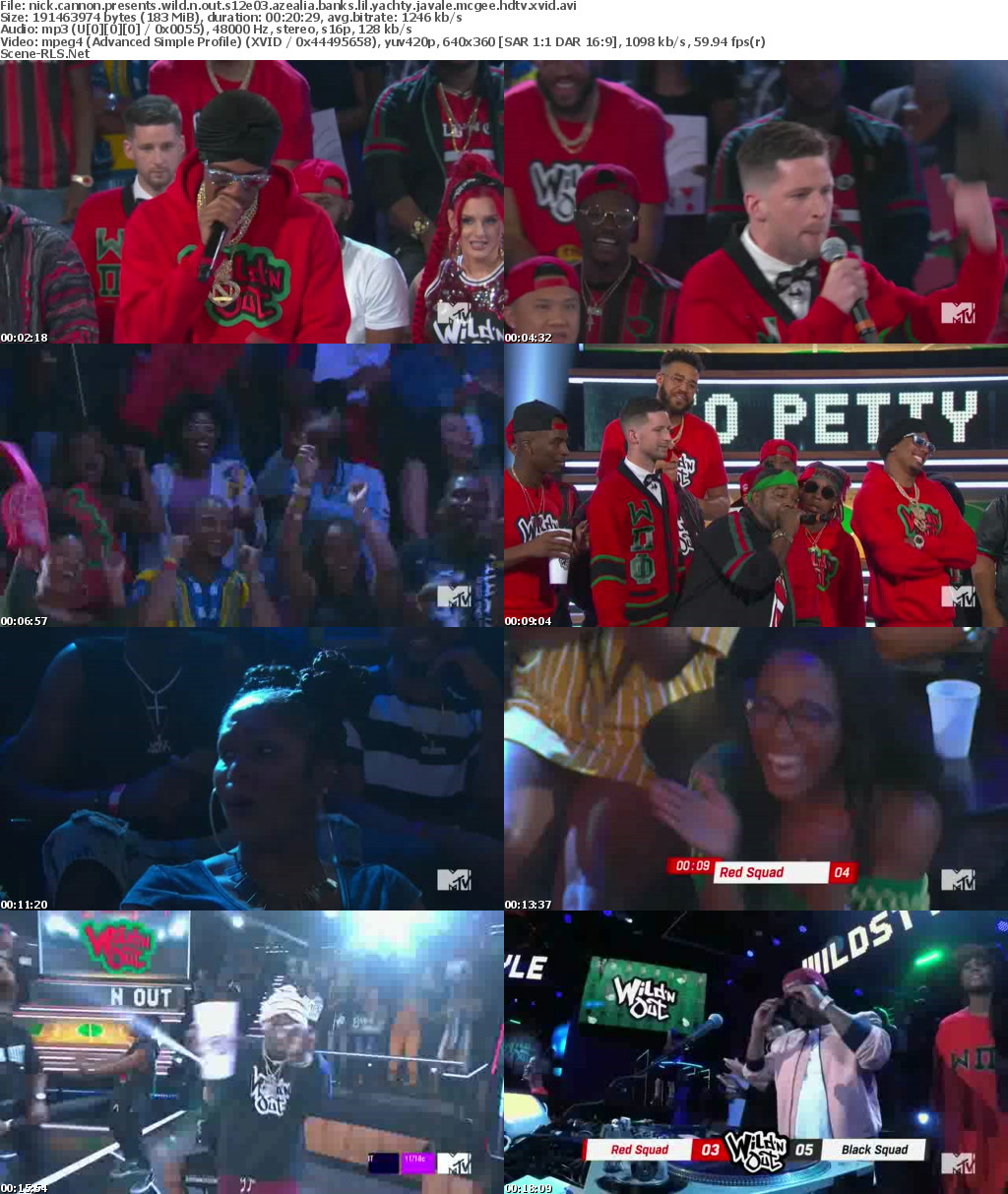 wild n out lil yachty azealia banks