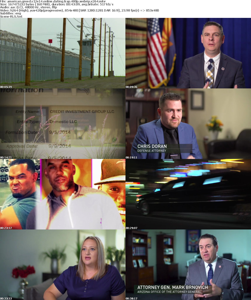 Online dating trap american greed