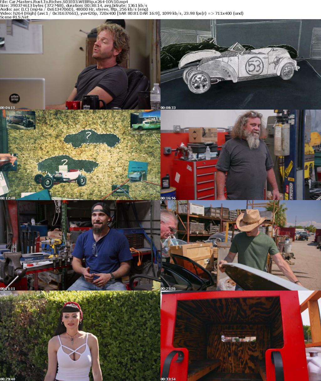 car masters rust to riches smart car
