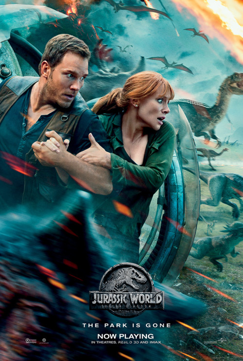 Jurassic World: Fallen Kingdom (2018) – {English} Bluray 1080p 2.53GB / 720p 1.3GB / 480p 782MB