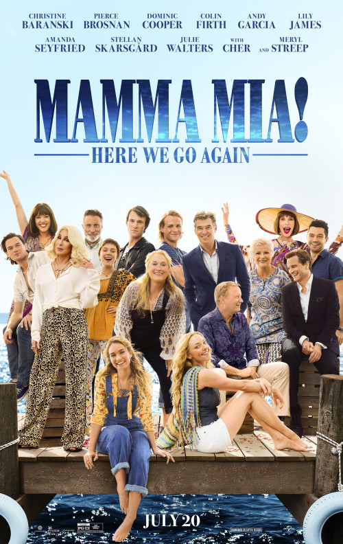 Mamma Mia! Here We Go Again (2018) – hdrip 720p 850MB / 480p 400Mb