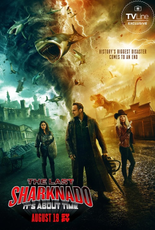 The Last Sharknado: It's About Time (2018) – Bluray 1.64GB / 720p 1GB / 480p 409MB