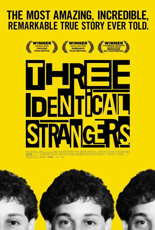 Three Identical Strangers (2018) – Bluray 1080p 1.84GB / 720p 1.16GB / x265 512MB / 480p 369MB