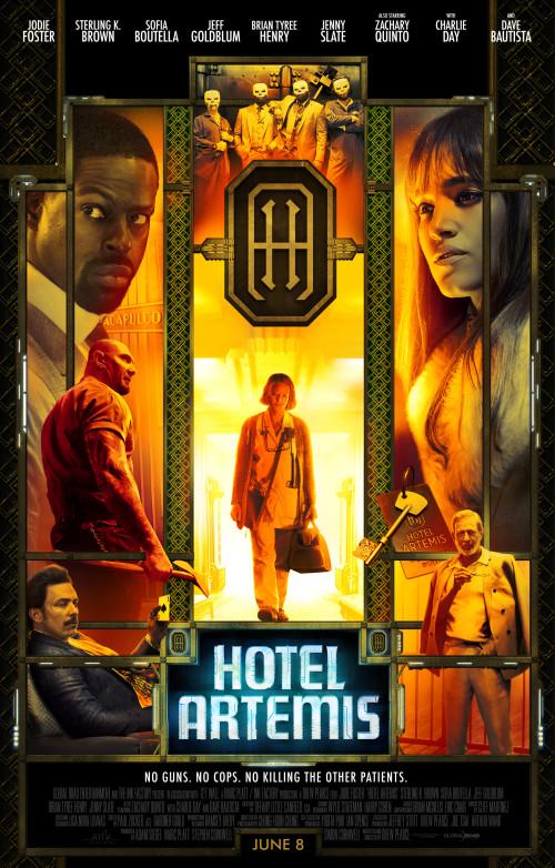 Hotel Artemis 2018)- Bluray 1080p 1.66GB / 720p 848MB / 480p 343MB / x265 321MB