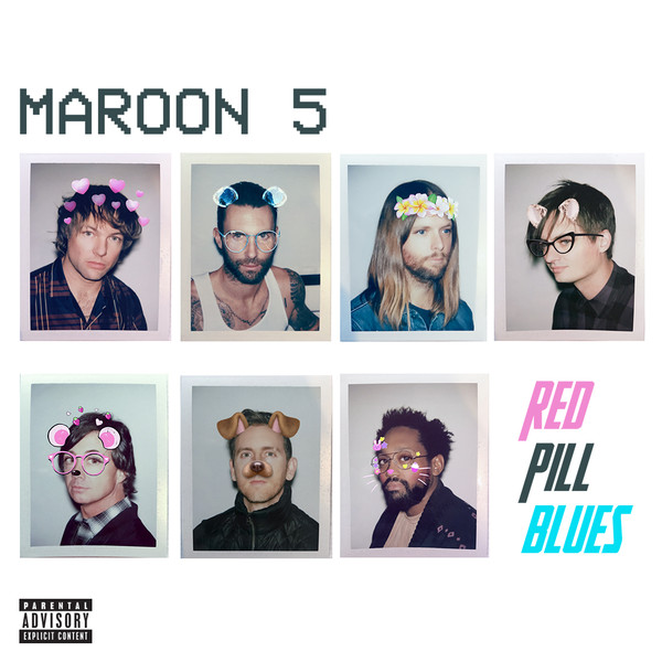 Maroon 5 ‎– Red Pill Blues [2CD Deluxe Edition] (2017) FLAC