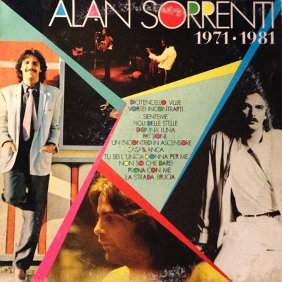 Alan Sorrenti ‎– 1971-1981 (1982) Mp3