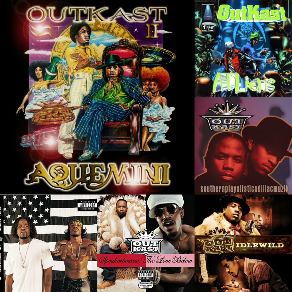 OutKast - Discography [8CD+Singles] (1993-2007) Mp3