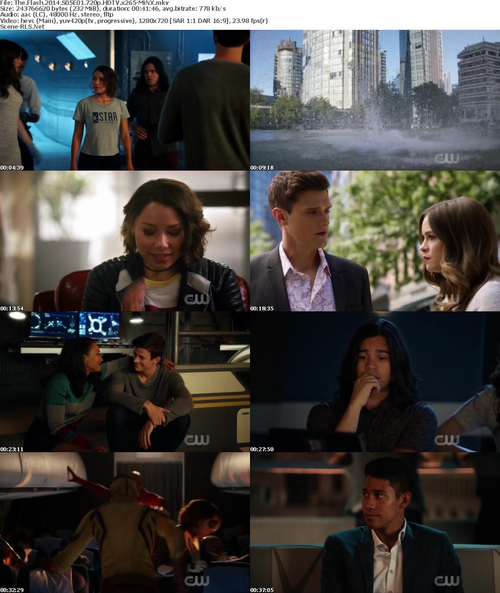 The Flash S05E01 [Season 5 Episode 1] 1080p 640MB 720p 318MB 480p 179MB HDTV x265