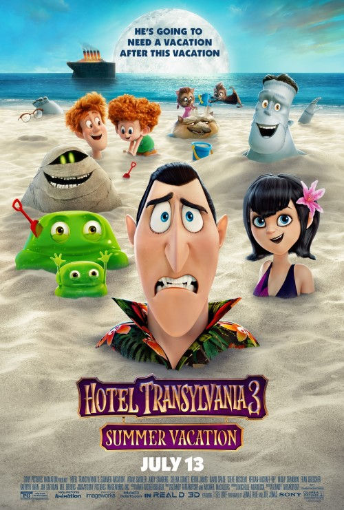 Hotel Transylvania 3 Hindi + English 1080p 720p 480p ESub x264 | HEVC Full Movie BluRay