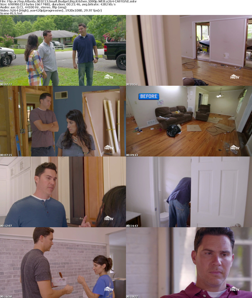 Flip Or Flop Atlanta S01e13 Small Budget Big Kitchen 1080p Web X264