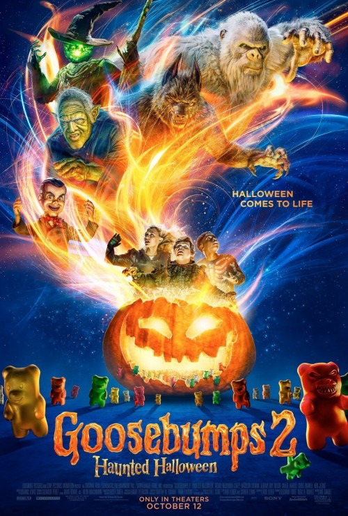 Goosebumps 2 (2018) Hindi 720p 480p HD-TS Dual Audio [ हिंदी + English] x264 Full Movie