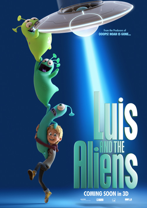 Luis & the Aliens (2018) – Quality of BluRay 720p – 1080p – 480p – official movie traile