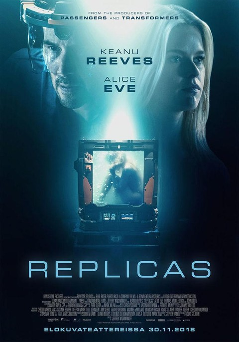 Replicas (2018) – {English} HD-CAM 650MB x264