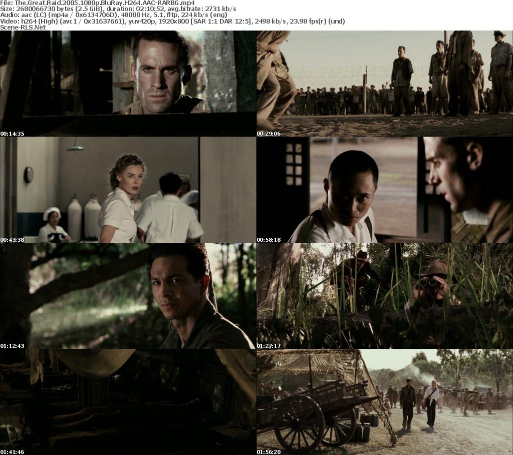 The Great Raid (2005) -BluRay 720p - 1080p