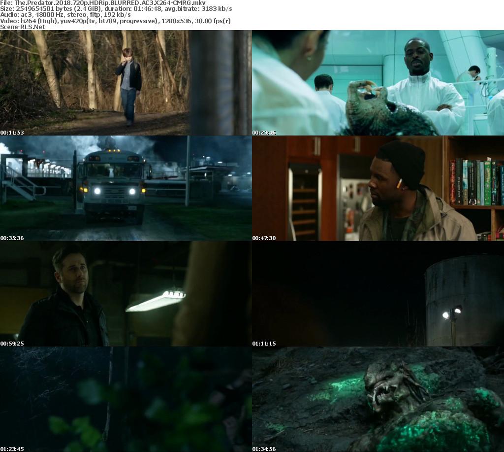 Download The Predator (2018) -HDRip 720p - 1080p - 480p