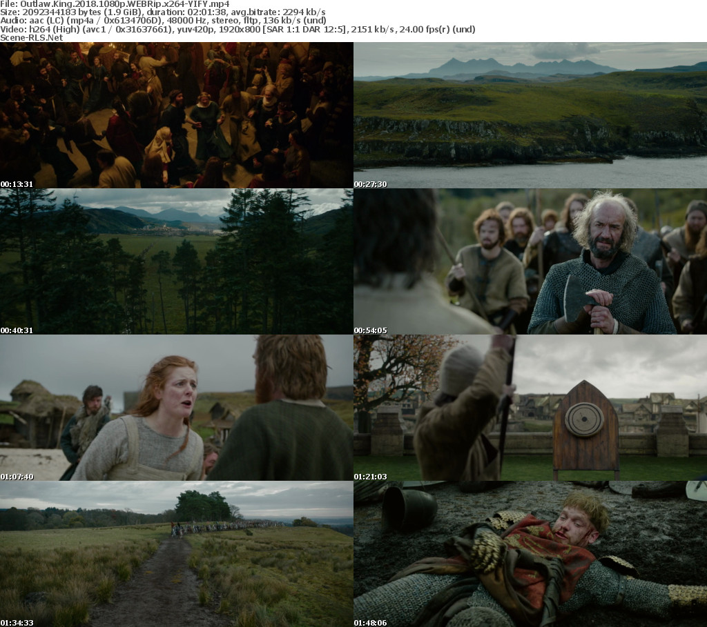 Download Outlaw King (2018) - Web-DL 720p - 1080p - 480p