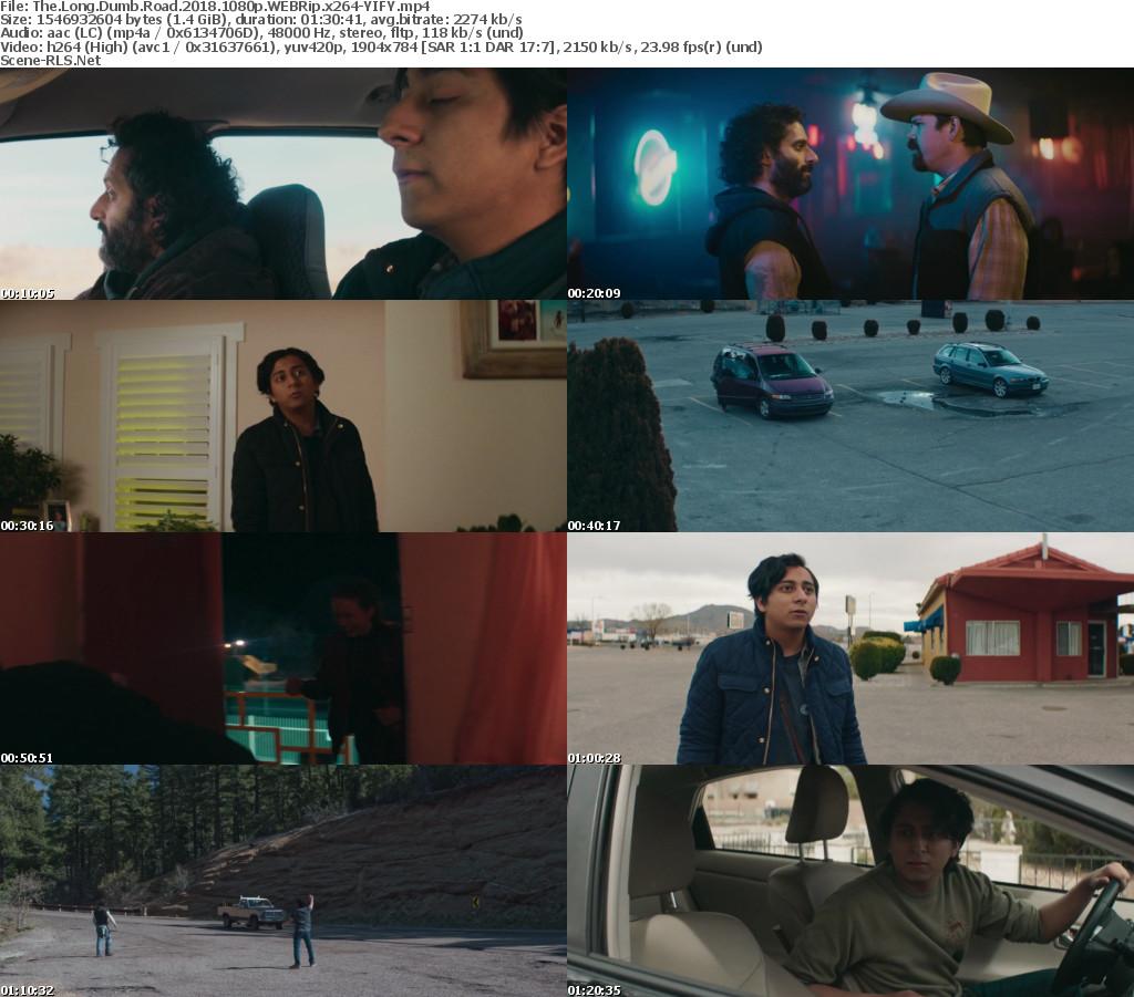 The Long Dumb Road (2018) -Web-DL English 720p - 1080p - 480p