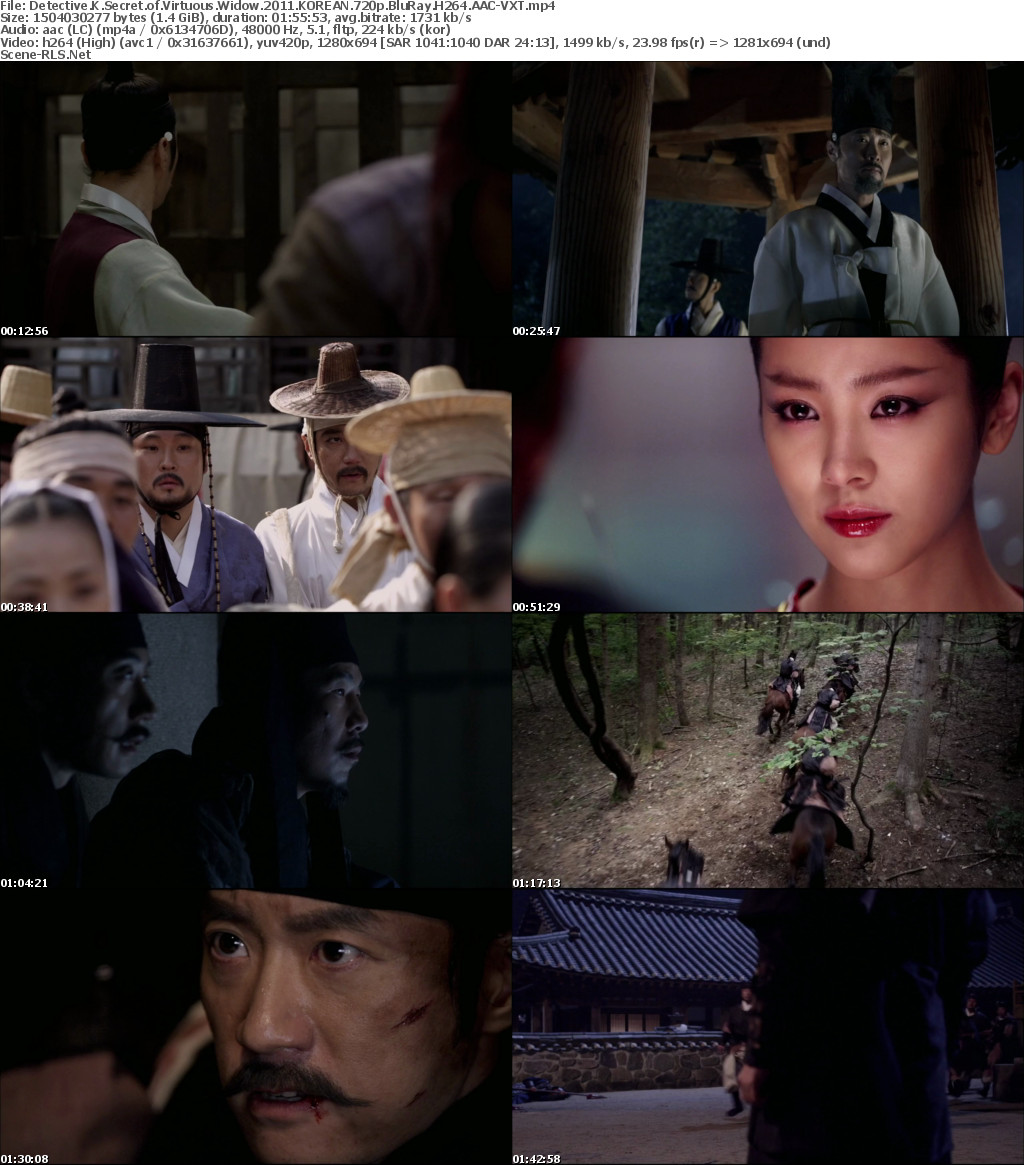 detective k secret of the virtuous widow full movie eng sub