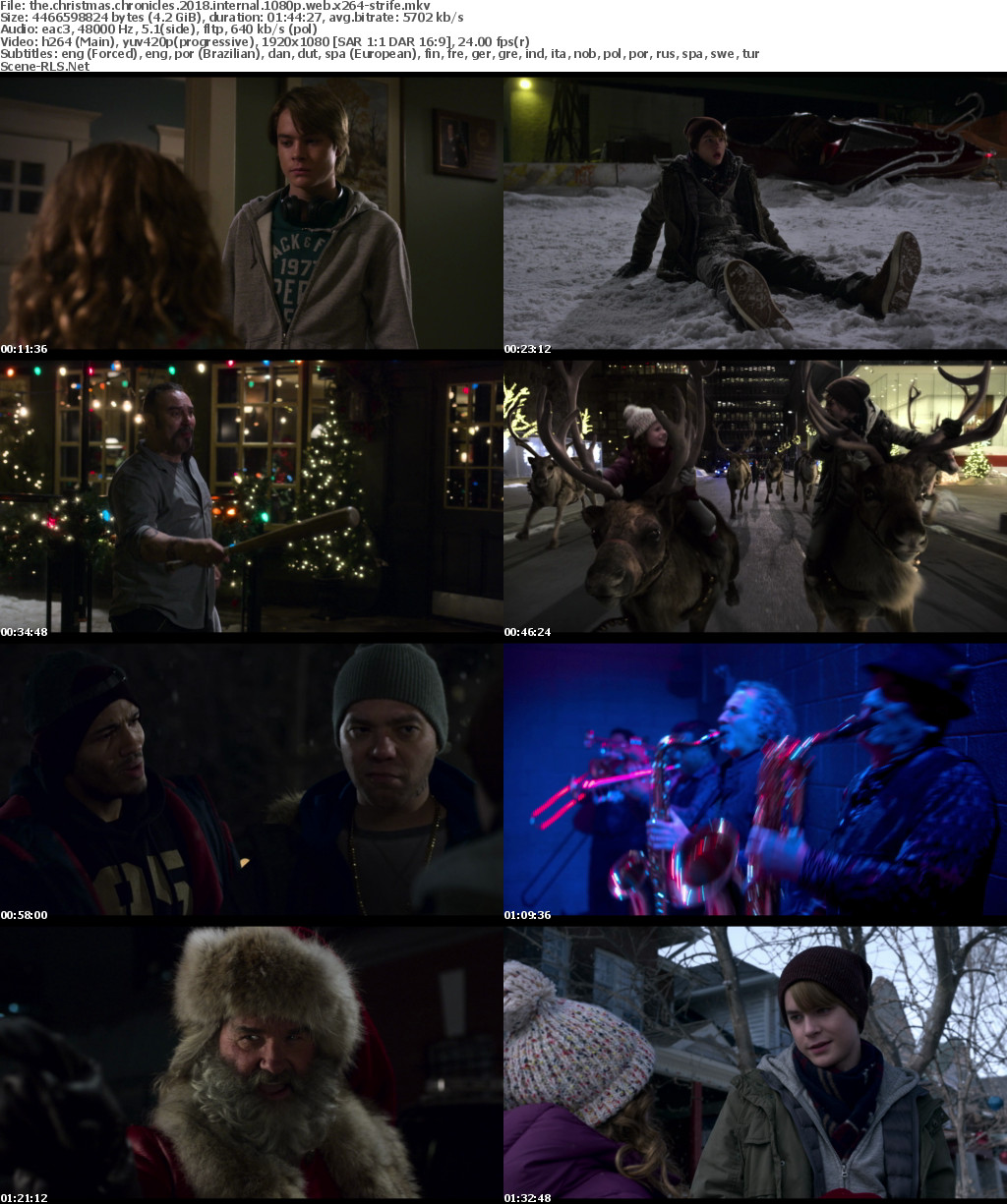 The Christmas Chronicles (2018) WEB-DL Full English Comedy Movie Download 480p 720p 1080p