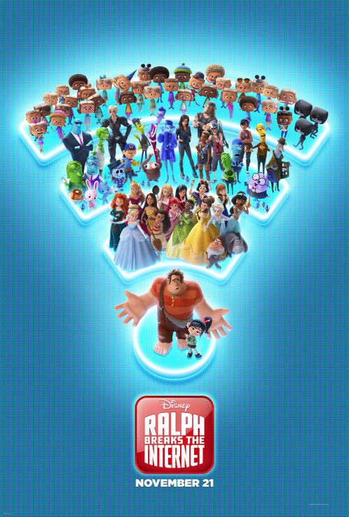 Wreck-It Ralph 2 : Ralph Breaks the Internet (2018) [Hindi Dubbed] 720p 480p HD-CamRip (DVDScr) Full Movie