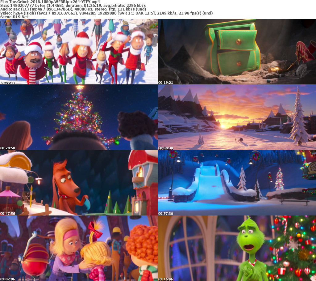the grinch 2018 movie download 480p