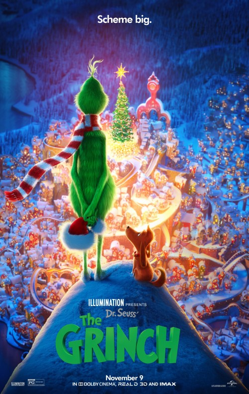 Grinch 2018 English 480p WEB-DL 280MB ESubs