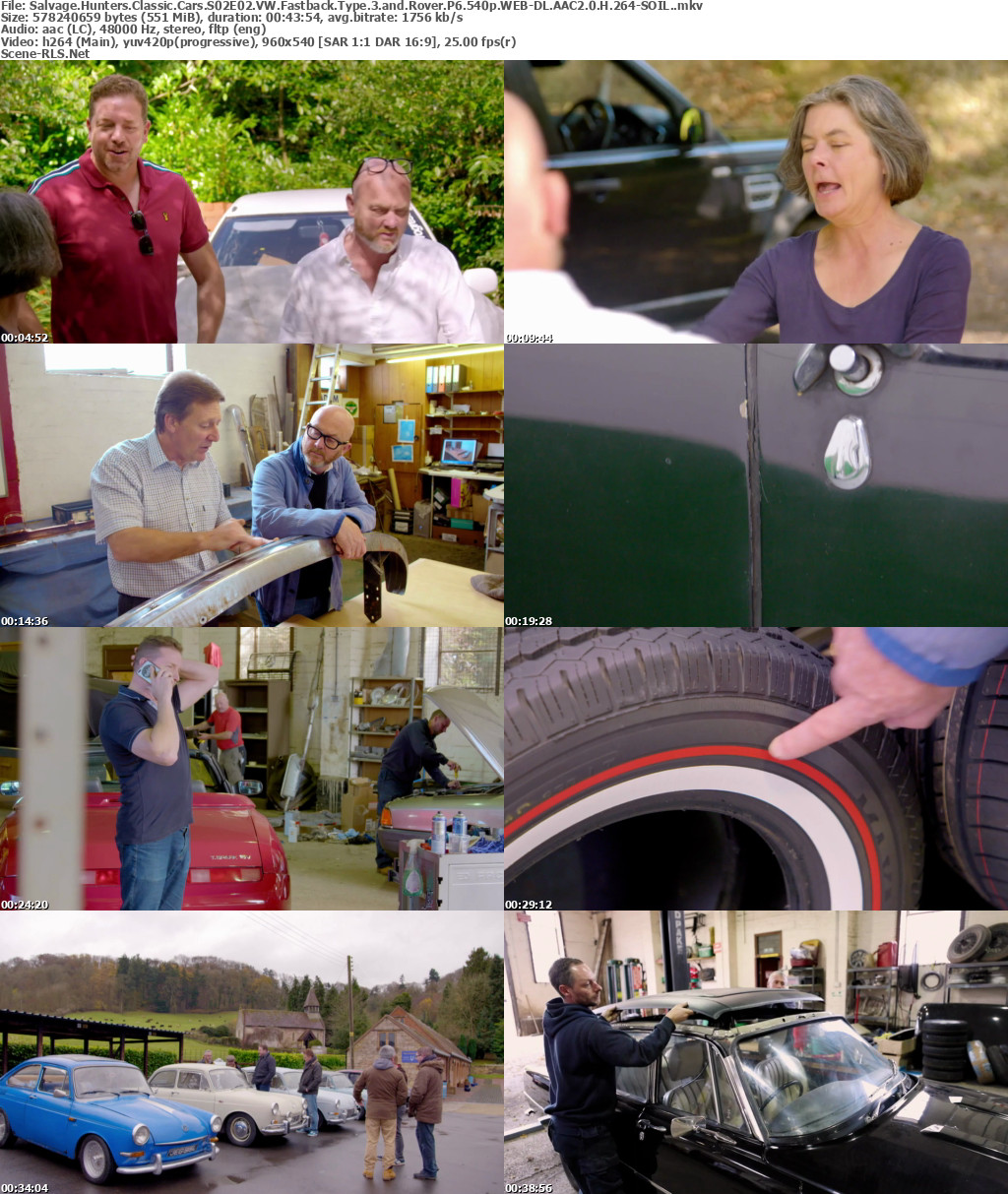salvage hunters classic cars s02e02 vw fastback type 3 and. Black Bedroom Furniture Sets. Home Design Ideas