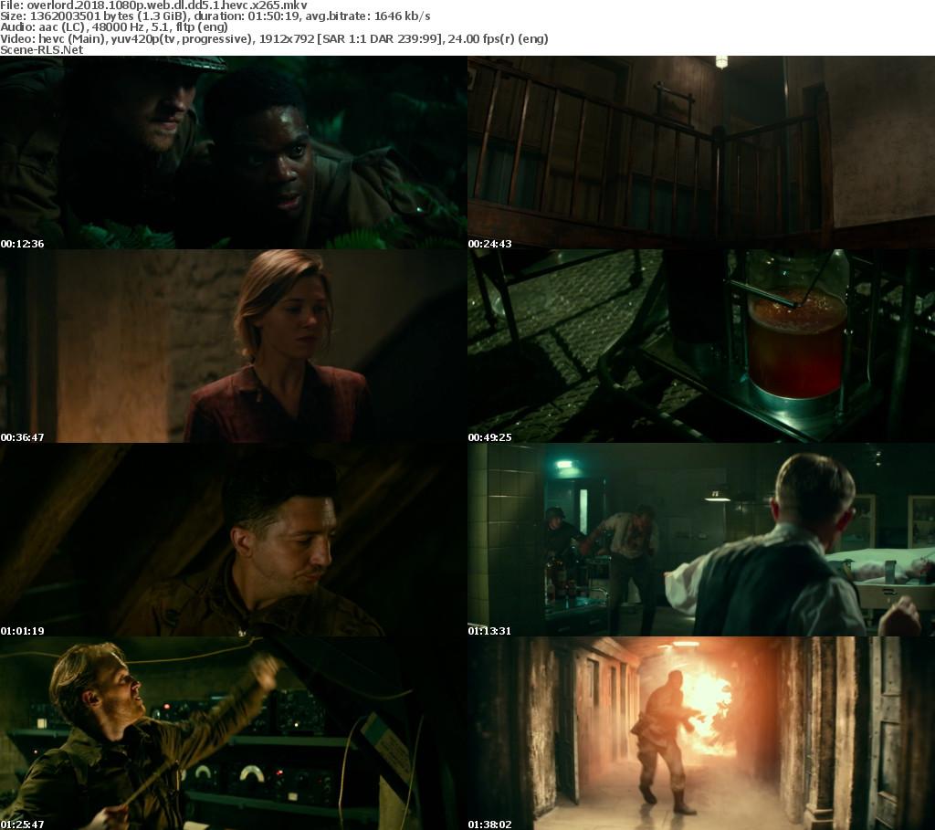 Overlord (2018) WEB-DL Full Movie 480p 720p 1080p | Moviesak47