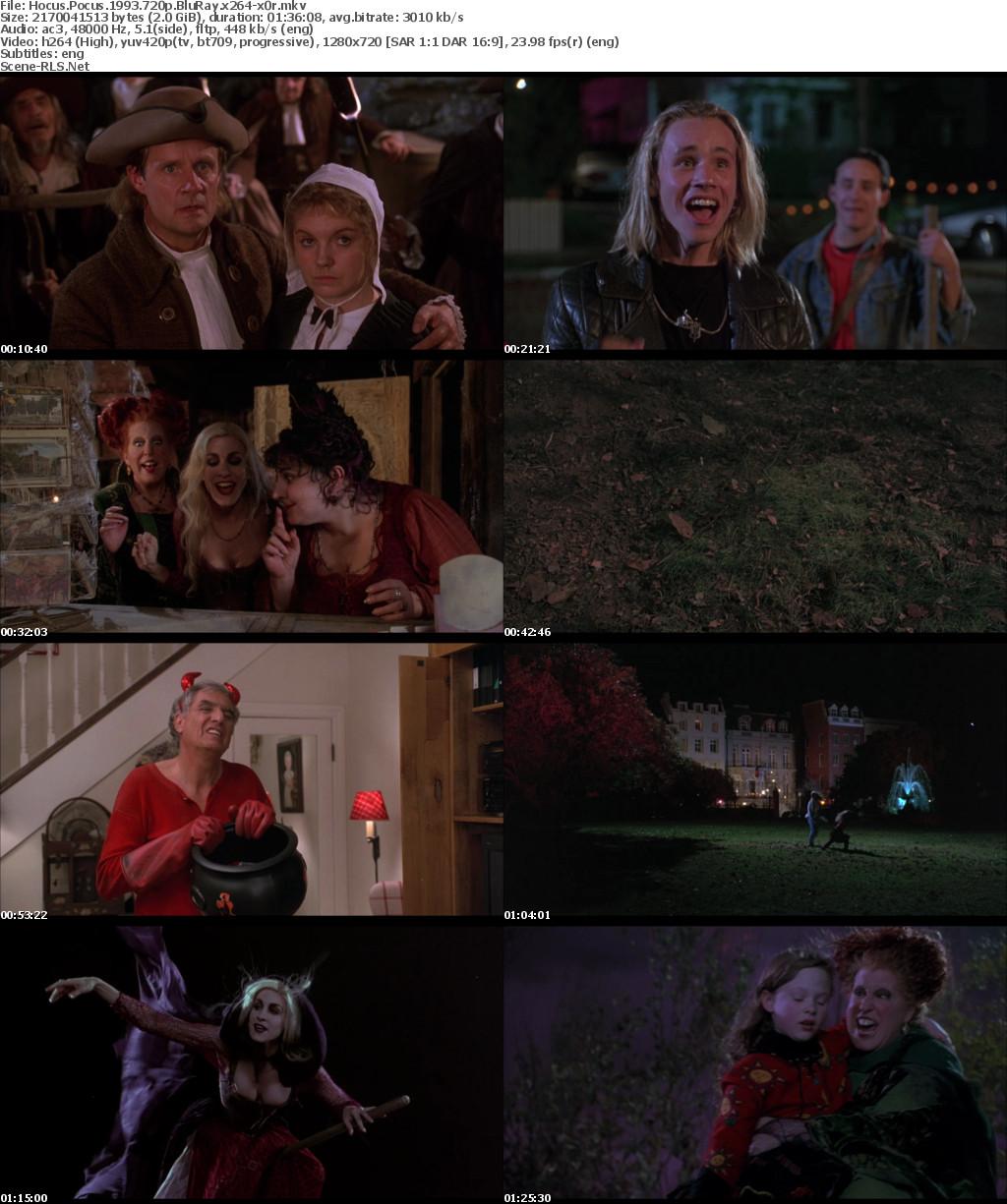 Hocus Pocus 1993 720p BluRay x264-x0r - Scene Release