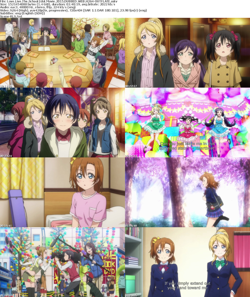 love live school idol movie download eng sub